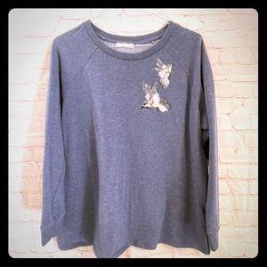 89th + Madison hummingbird sweatshirt